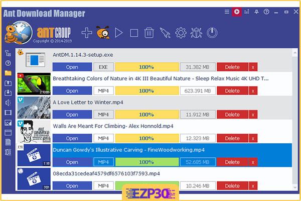 دانلود Ant Download Manager Pro