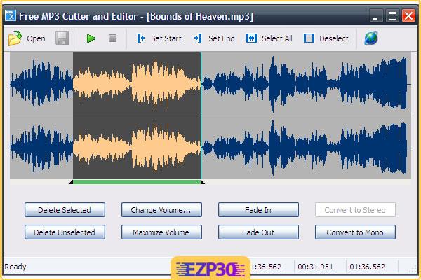 دانلود Free MP3 Cutter and Editor