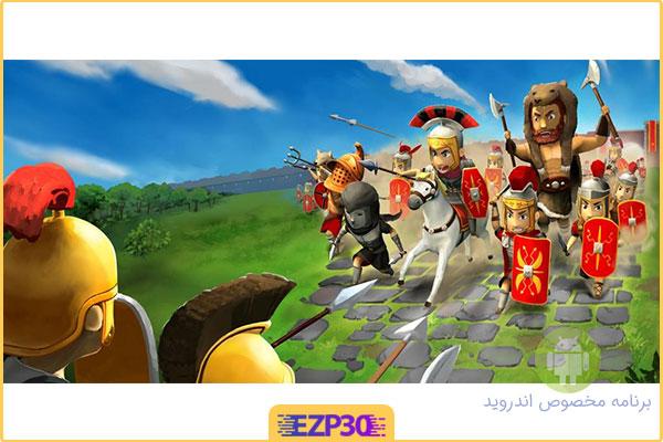 دانلود بازی Grow Empire: Rome گسترش امپراطوری روم