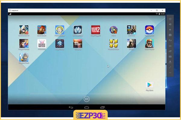 دانلود نرم افزار LeapDroid شبیه ساز اندروید در ویندوز