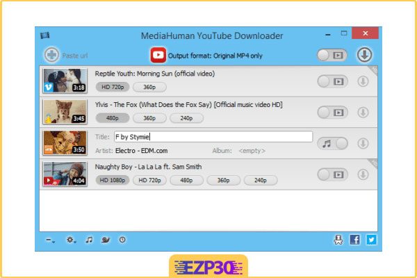 دانلود MediaHuman YouTube Downloader