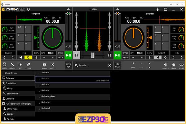 دانلود نرم افزار PCDJ DEX میکس موزیک