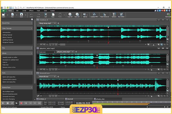 دانلود WavePad Sound Editor Masters