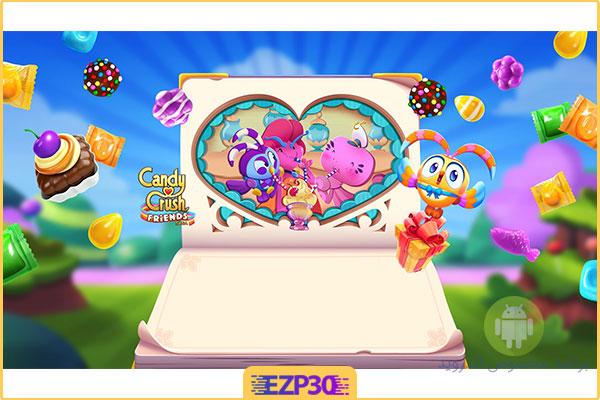 دانلود بازی Candy Crush Friends Saga