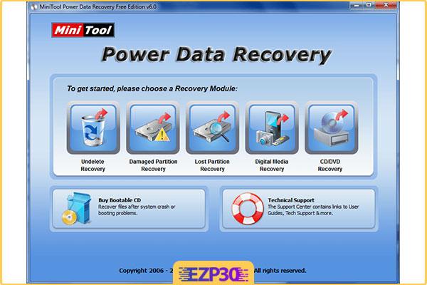 دانلود MiniTool Power Data Recovery
