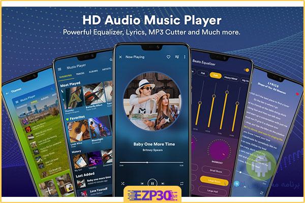 دانلود برنامه Muzio Player Premium