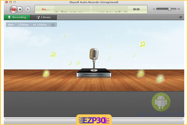 دانلود نرم افزار iSkysoft Audio Recorder